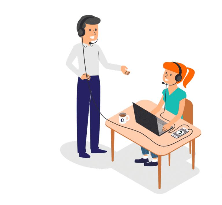 monitor customer encounters