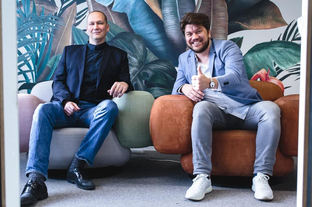 Sakari Taitonen and Ville Mikkonen